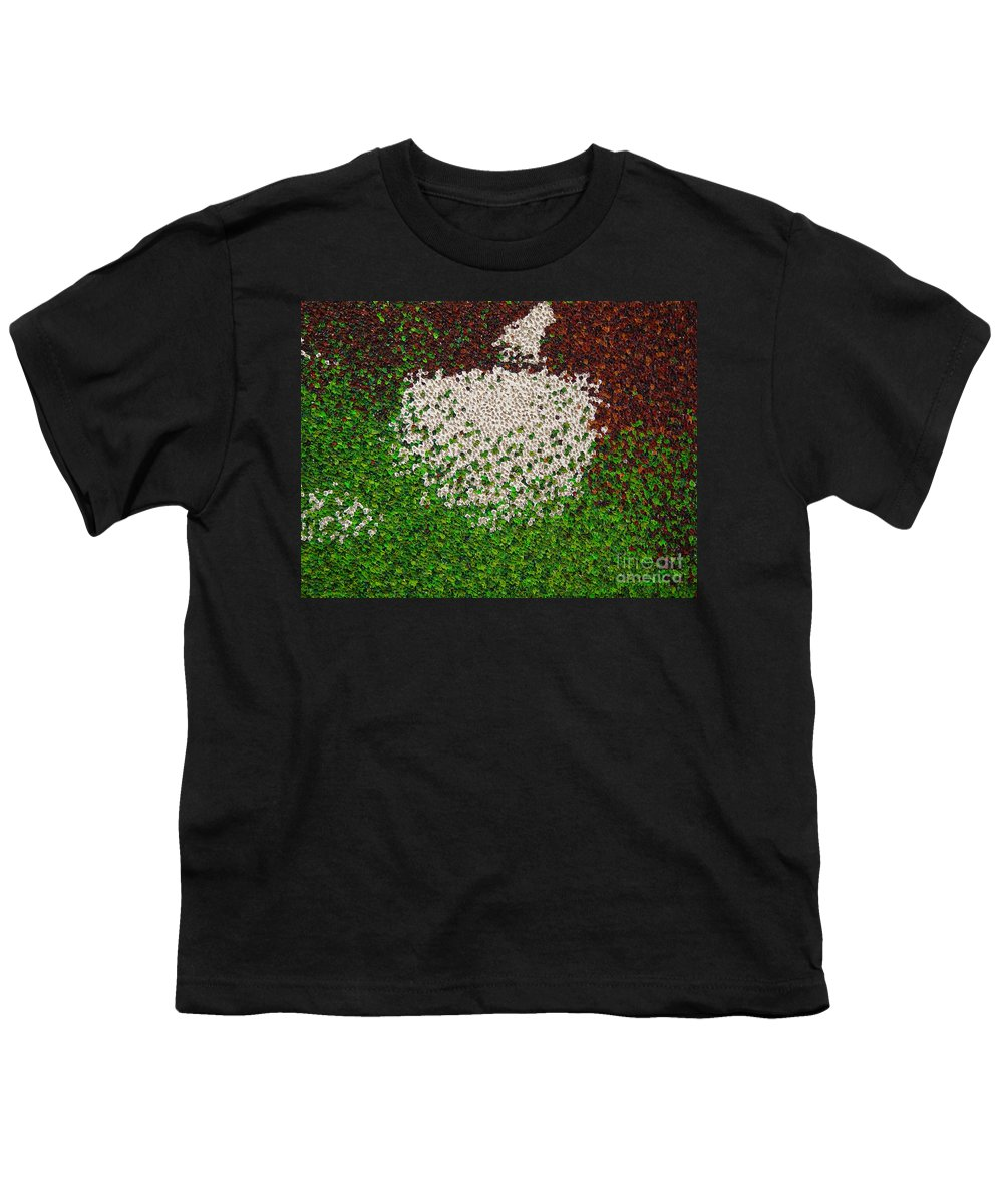 Abstract Youth T-Shirt featuring the painting Untitled by Dean Triolo