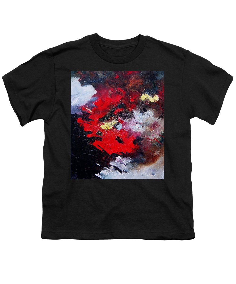 Abstract Youth T-Shirt featuring the painting Abstract070406 by Pol Ledent
