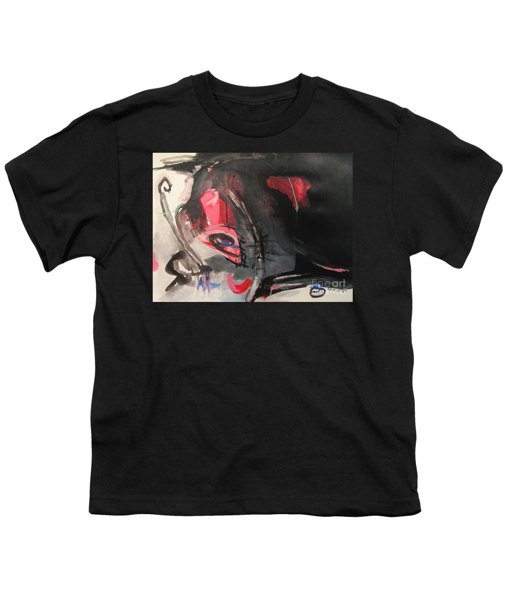 Abstract Paintings Paintings Abstract Art Paintings Youth T-Shirt featuring the painting Accessible To Nobody by Seon-Jeong Kim