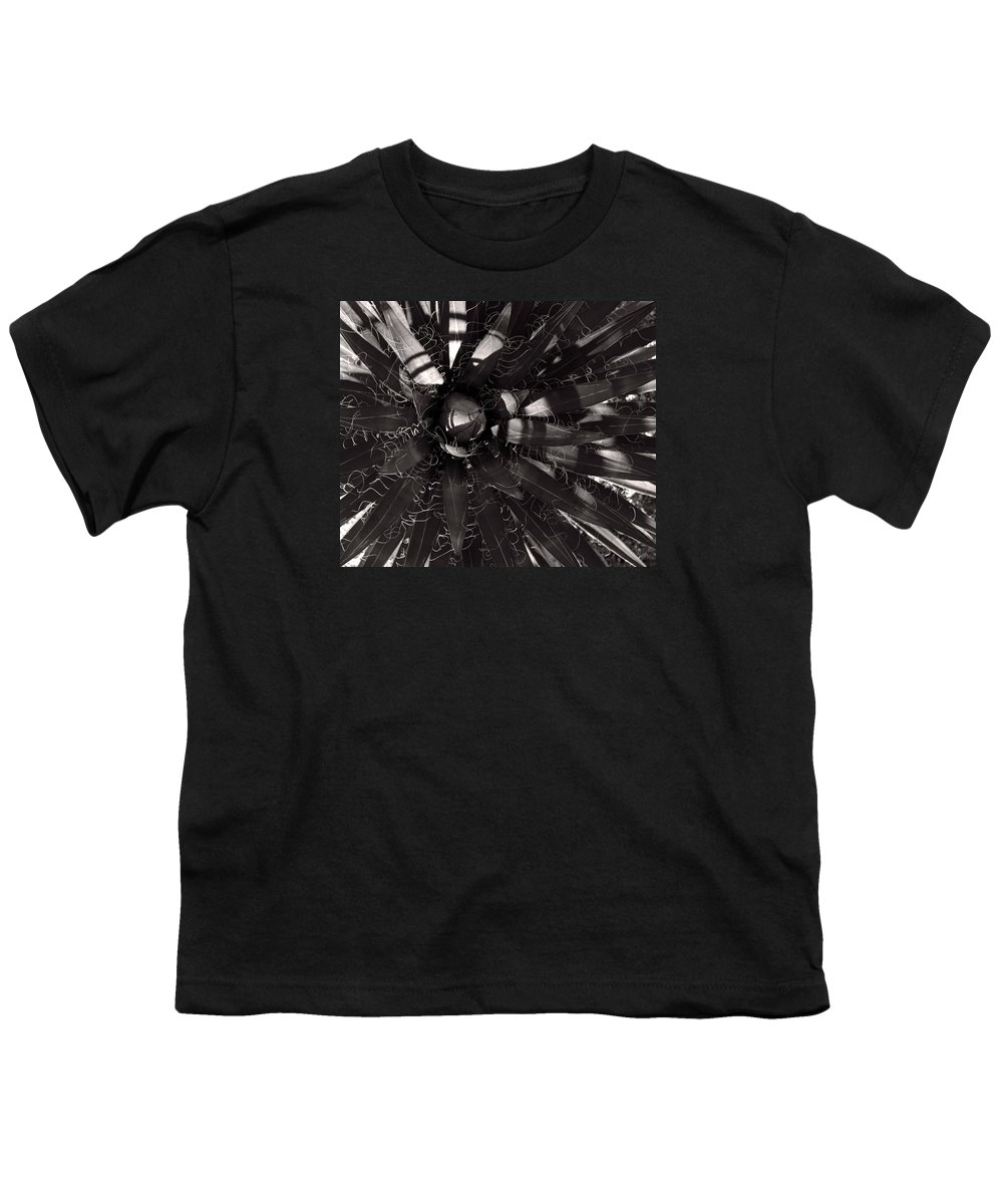 Agave Youth T-Shirt featuring the photograph Agave by Steve Bisgrove