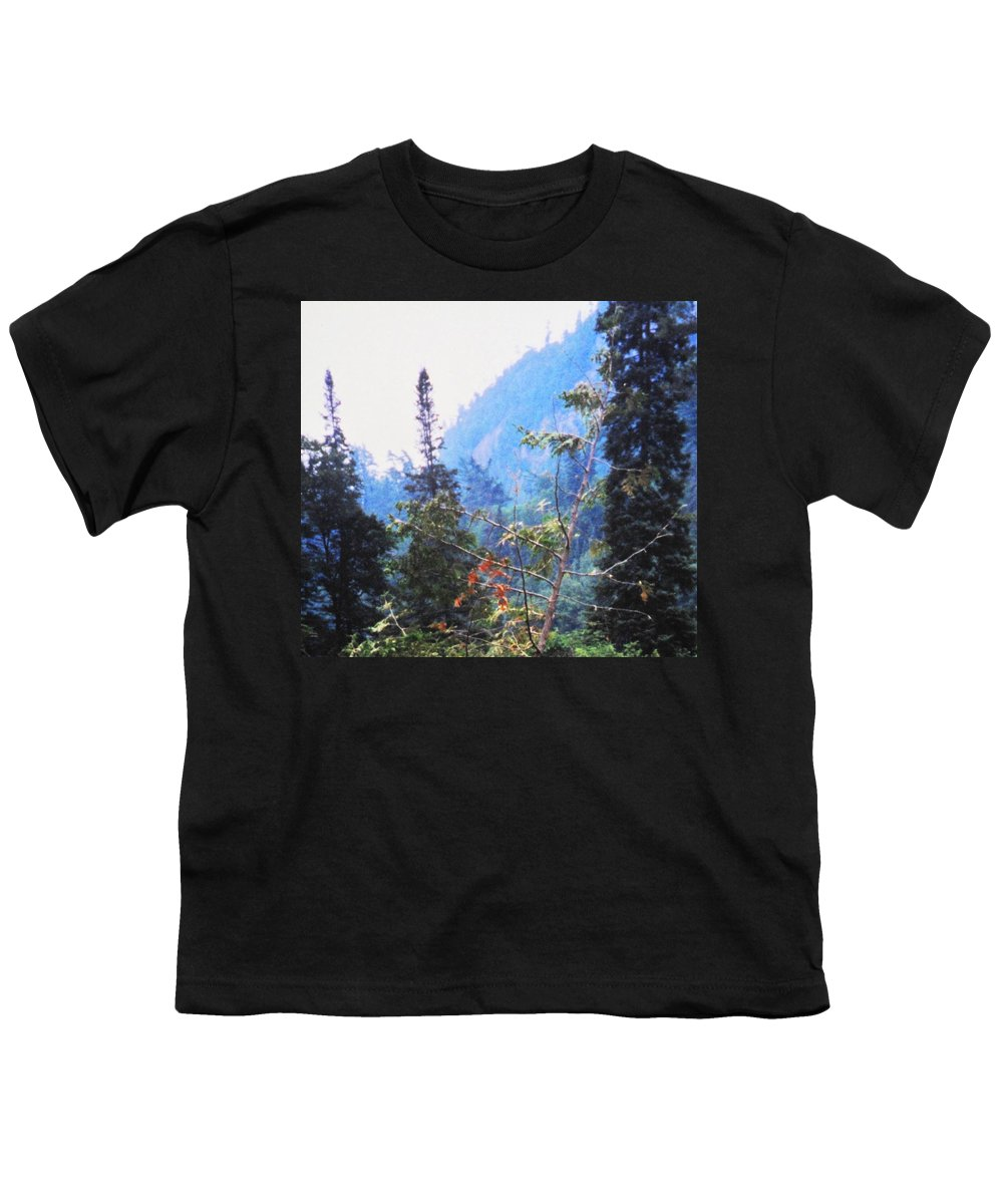 Agawa Youth T-Shirt featuring the photograph Agawa Canyon by Ian MacDonald