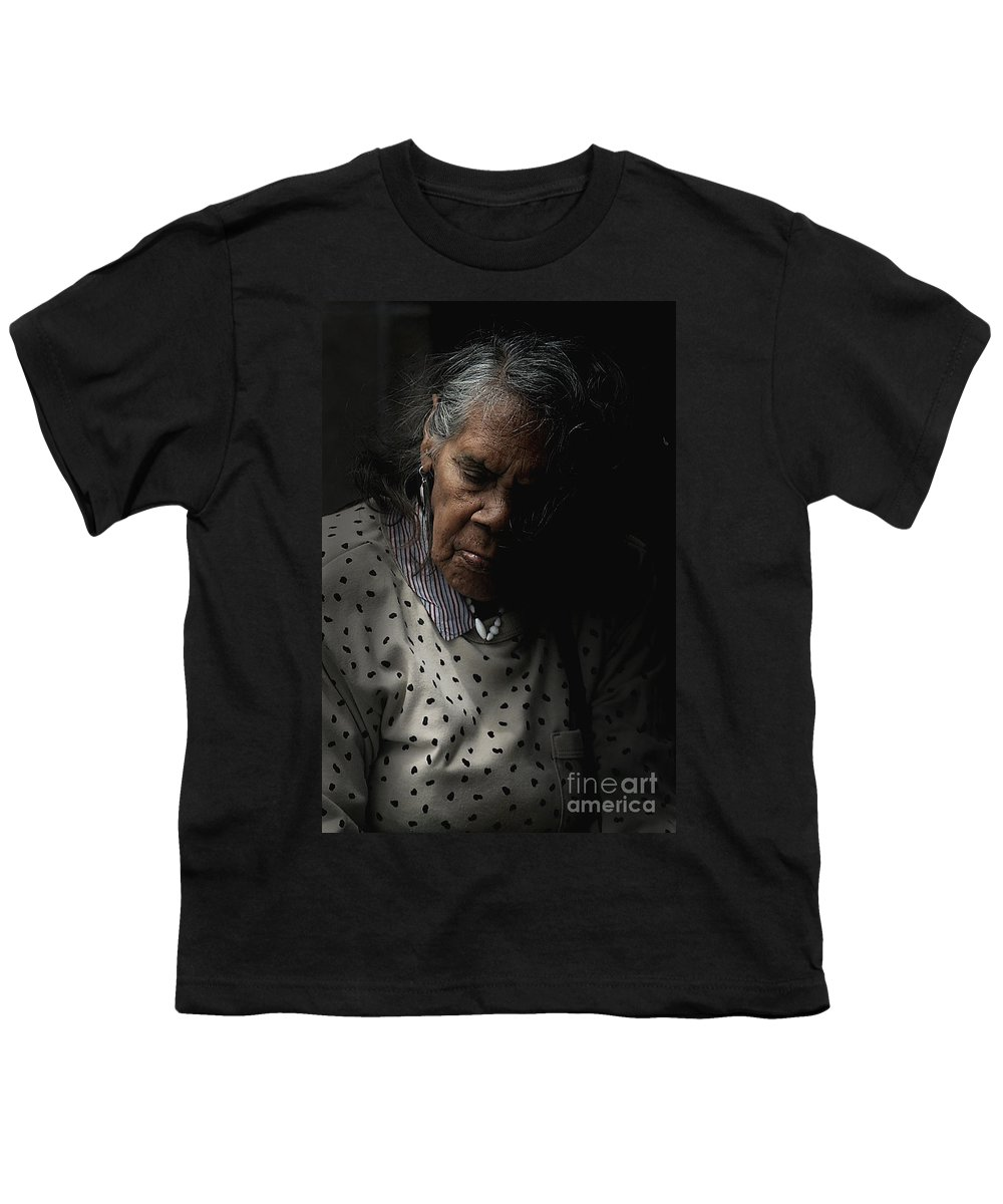 Portrait Youth T-Shirt featuring the photograph Alice by Sheila Smart Fine Art Photography