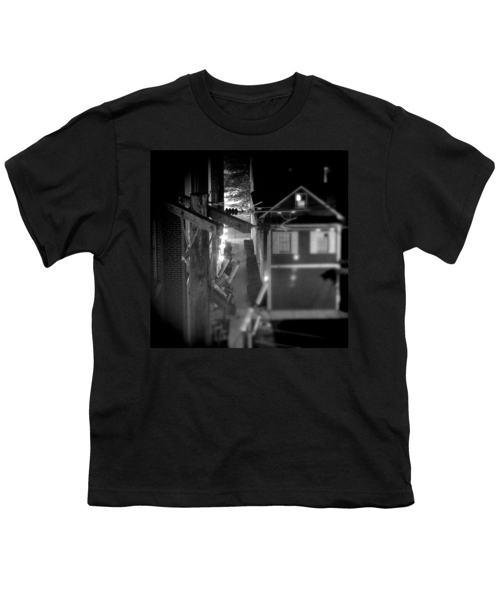 Alley Youth T-Shirt featuring the photograph Alley To High by Jean Macaluso