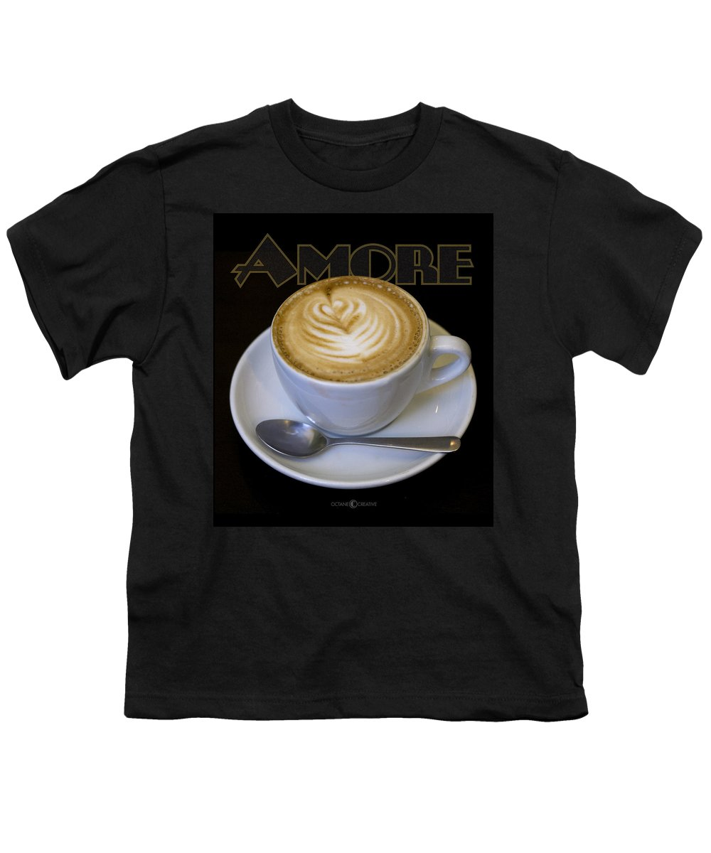 Coffee Youth T-Shirt featuring the photograph Amore Poster by Tim Nyberg
