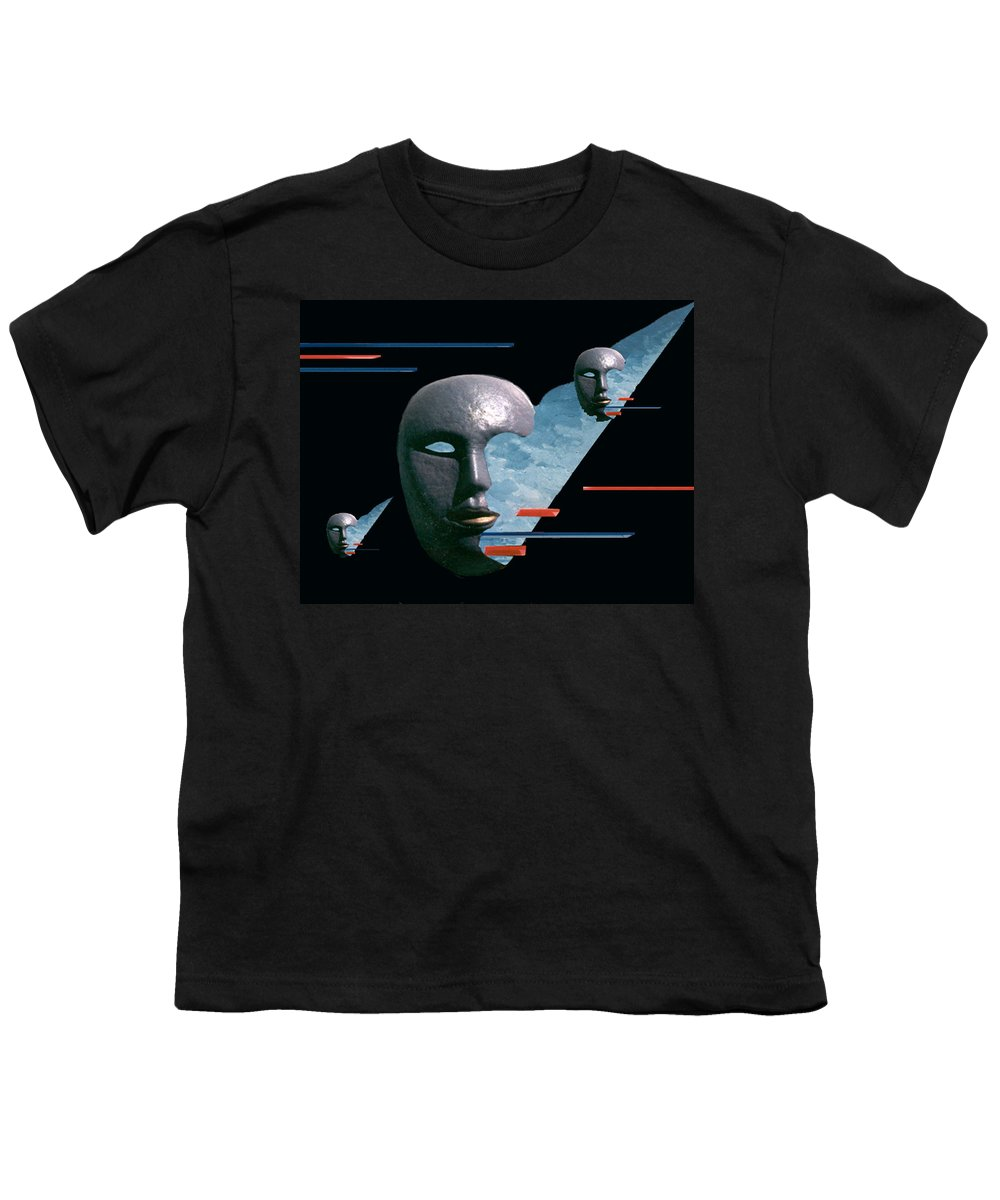 Surreal Youth T-Shirt featuring the digital art An Androids Dream by Steve Karol