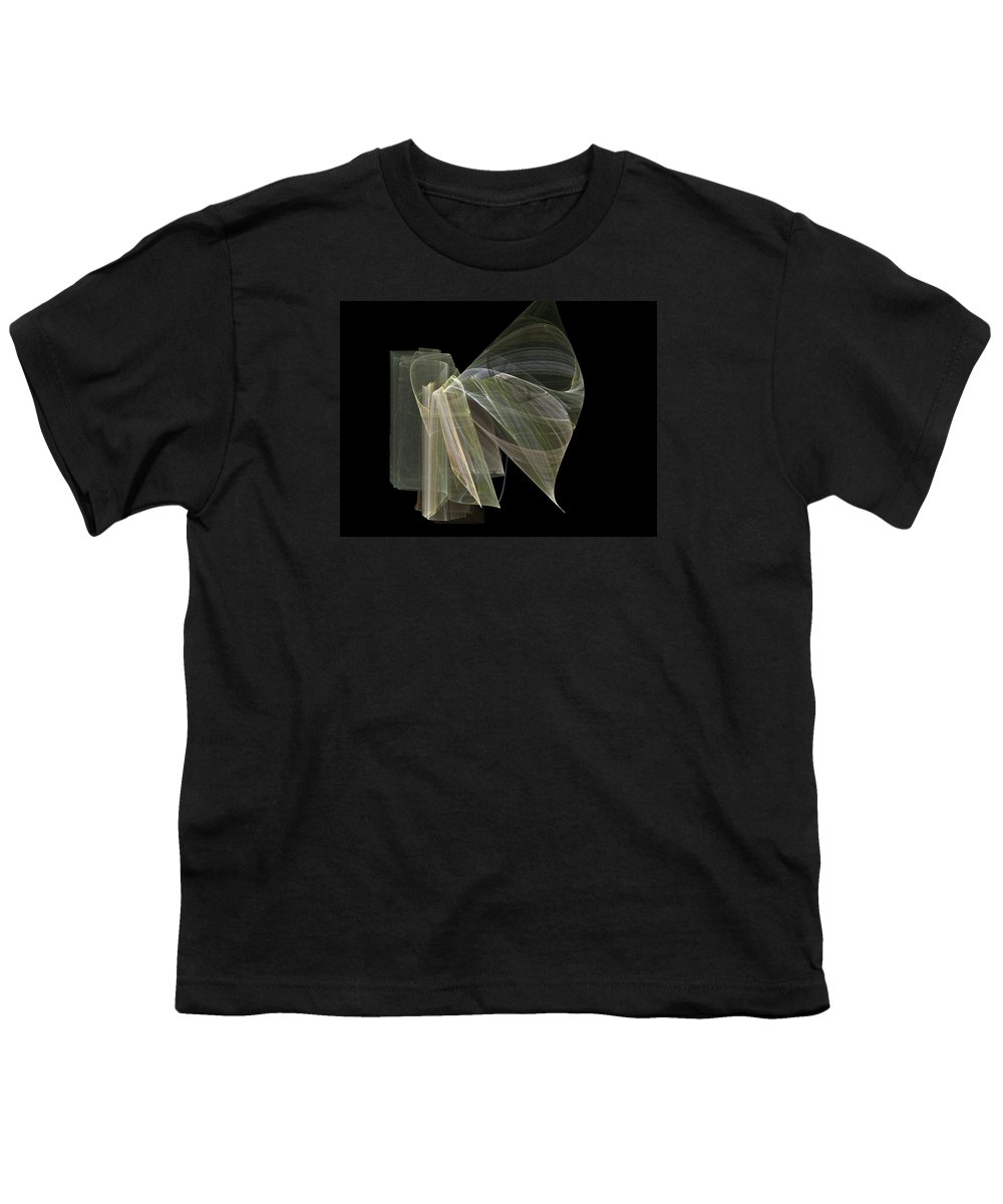 Experimental Youth T-Shirt featuring the digital art And The Angel Spoke..... by Jackie Mueller-Jones