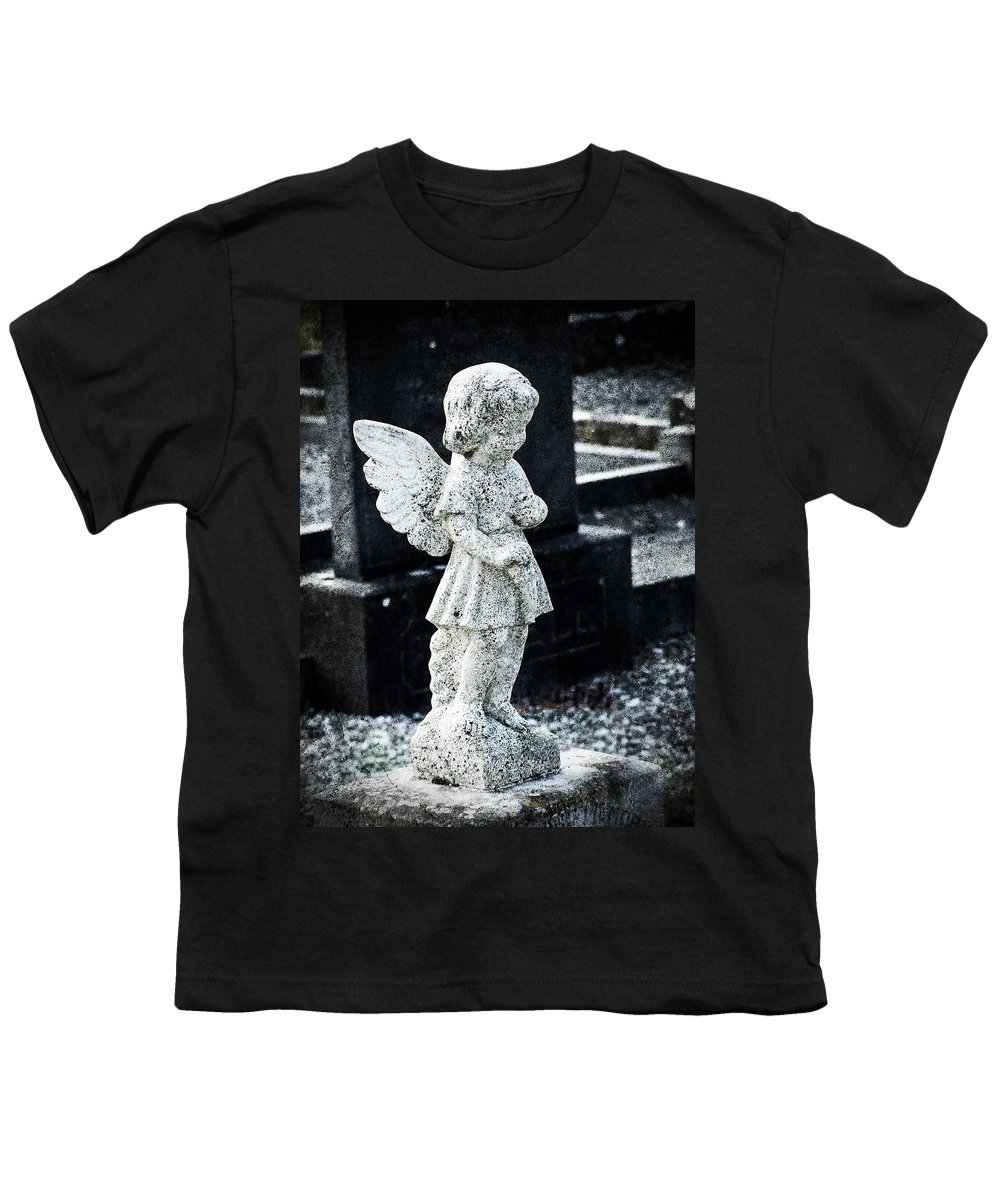 Ireland Youth T-Shirt featuring the photograph Angel In Roscommon No 3 by Teresa Mucha