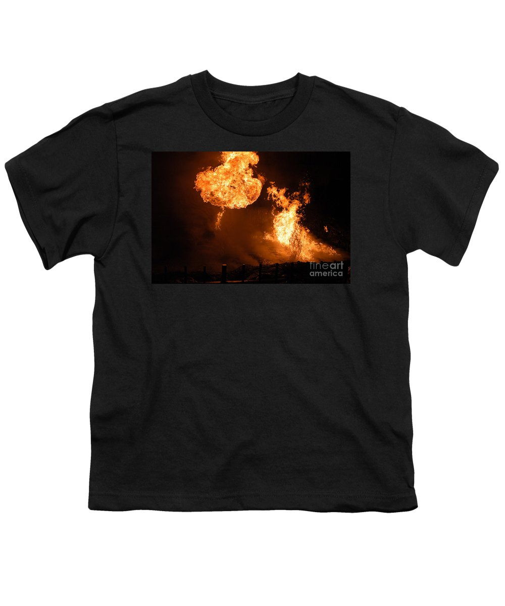 Clay Youth T-Shirt featuring the photograph Angry Face by Clayton Bruster