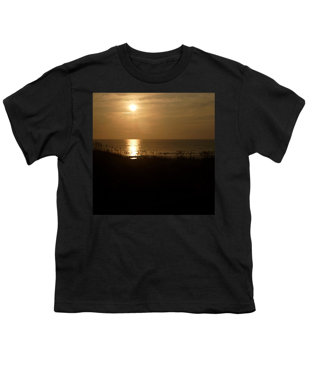 Color Youth T-Shirt featuring the photograph Another Day Ends by Jean Macaluso