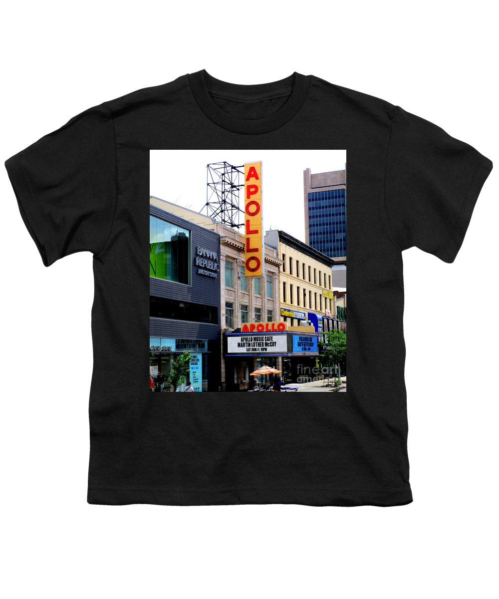 Apollo Theater Youth T-Shirts