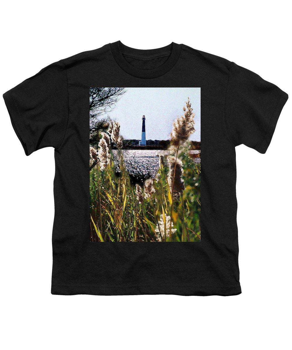 Barnegat Youth T-Shirt featuring the digital art Barnegat Bay by Steve Karol