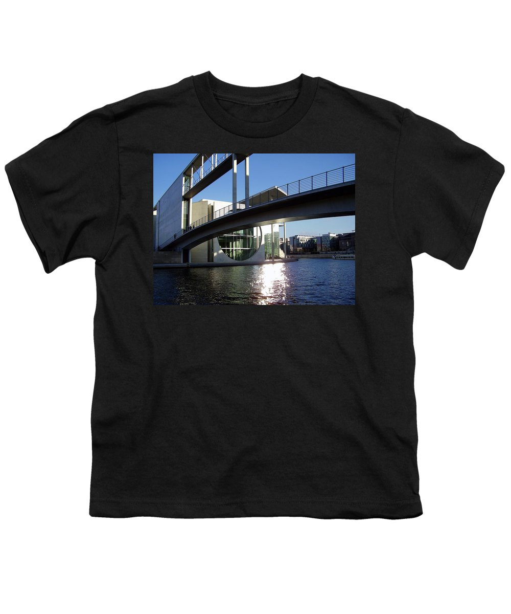 Marie-elisabeth-lueders Youth T-Shirt featuring the photograph Berlin by Flavia Westerwelle