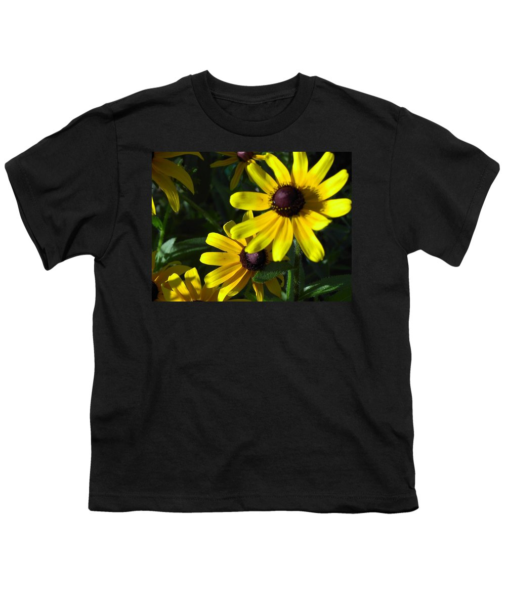 Charity Youth T-Shirt featuring the photograph Black Eyed Susan by Mary-Lee Sanders