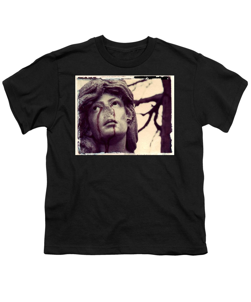 Polaroid Youth T-Shirt featuring the photograph Blood Is The New Black by Jane Linders