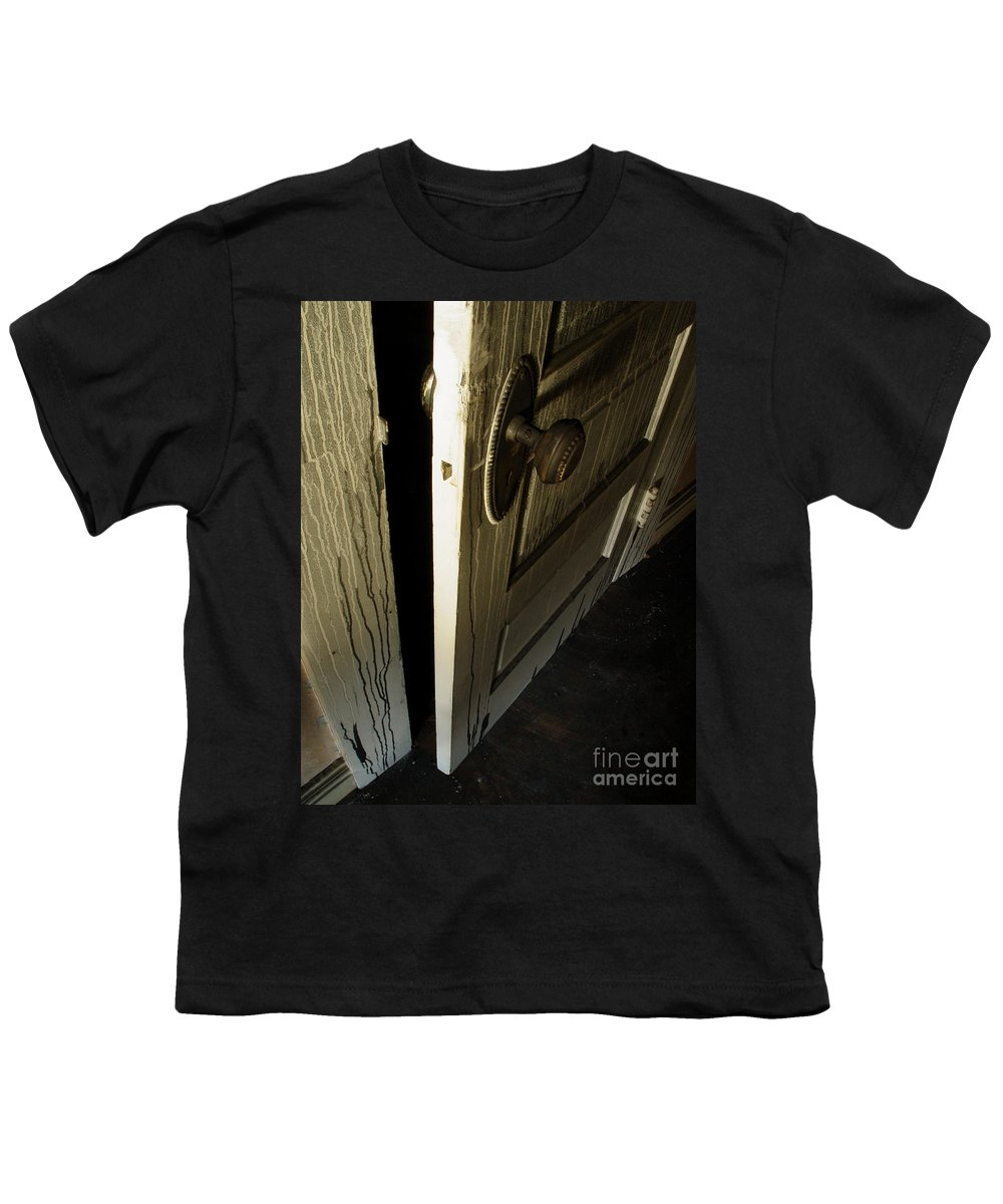 Ghostly Youth T-Shirt featuring the photograph Burned Knob 02 by Peter Piatt