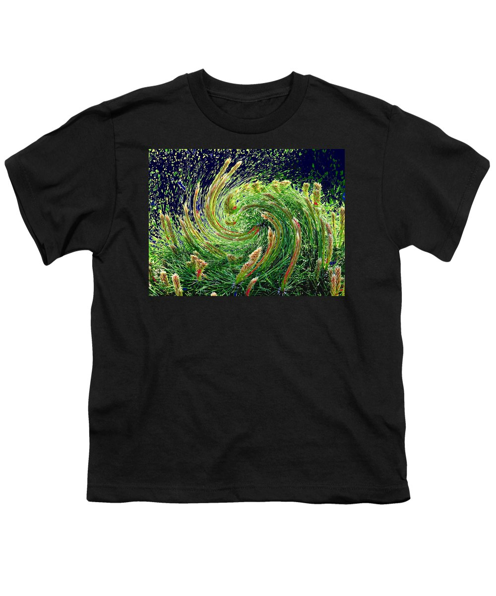Pine Youth T-Shirt featuring the photograph Bush In Transition by Ian MacDonald