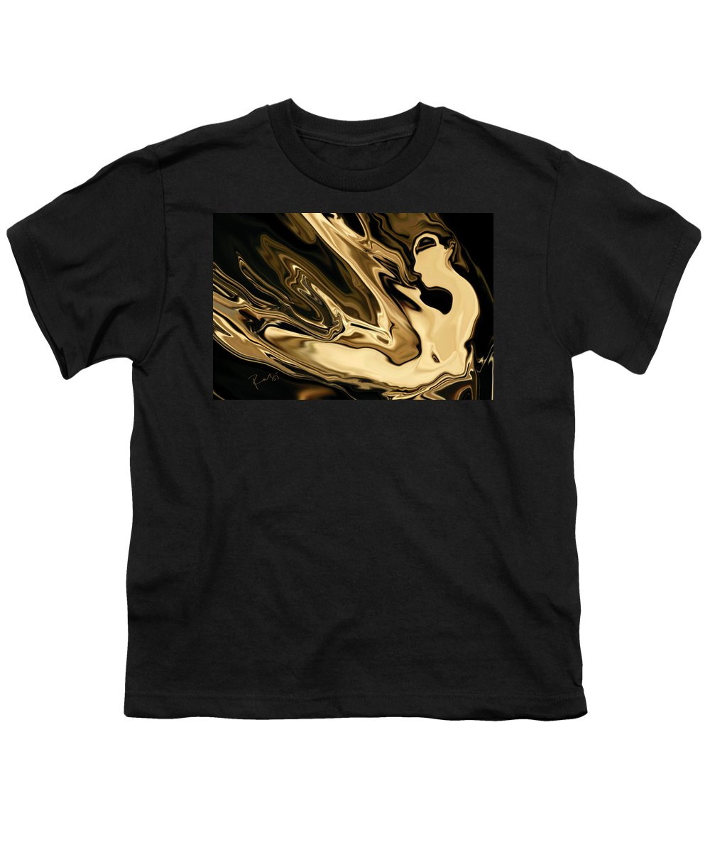 Abstract Youth T-Shirt featuring the digital art Butterfly Girl 3 by Rabi Khan