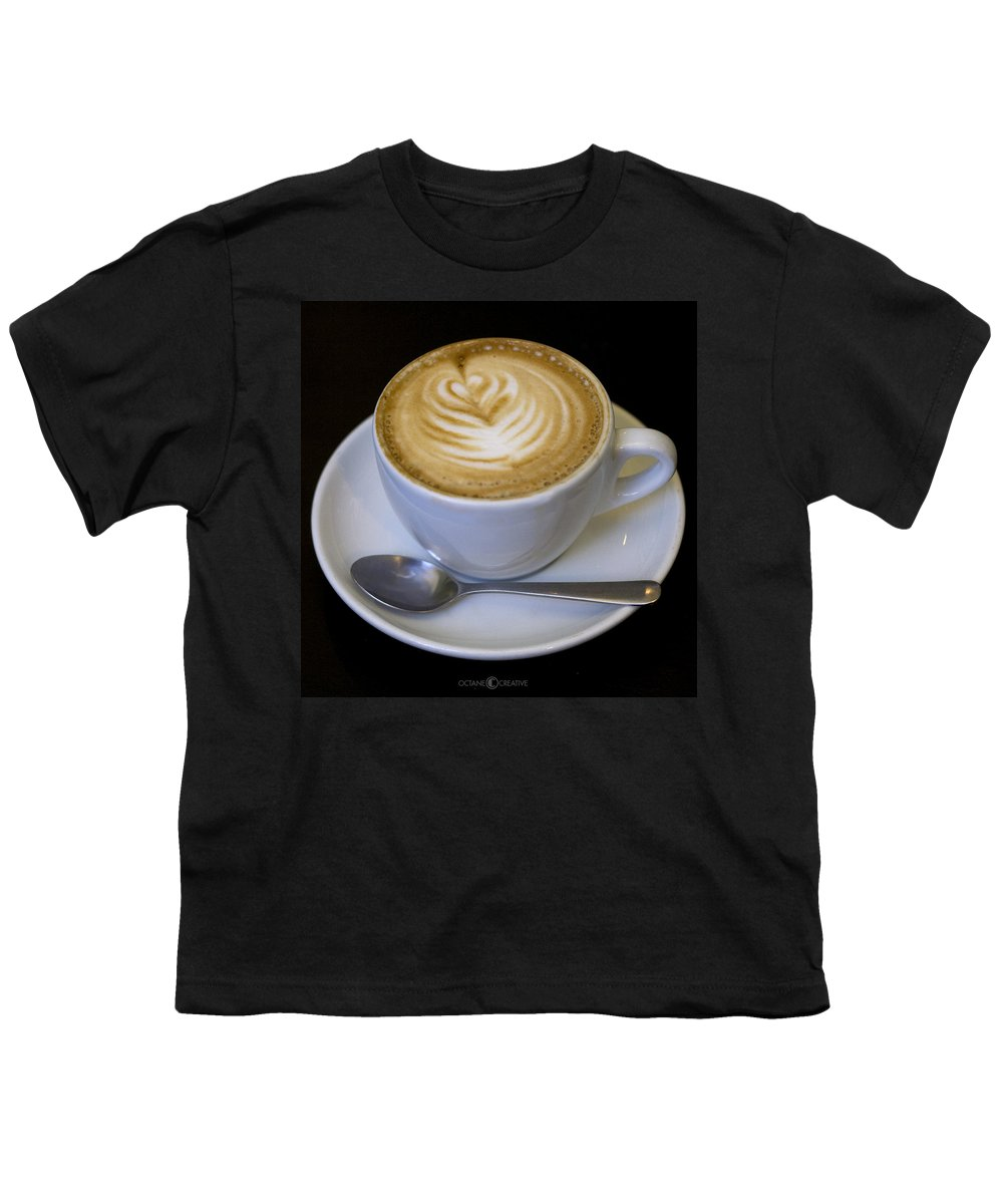 Coffee Youth T-Shirt featuring the photograph Cappuccino by Tim Nyberg