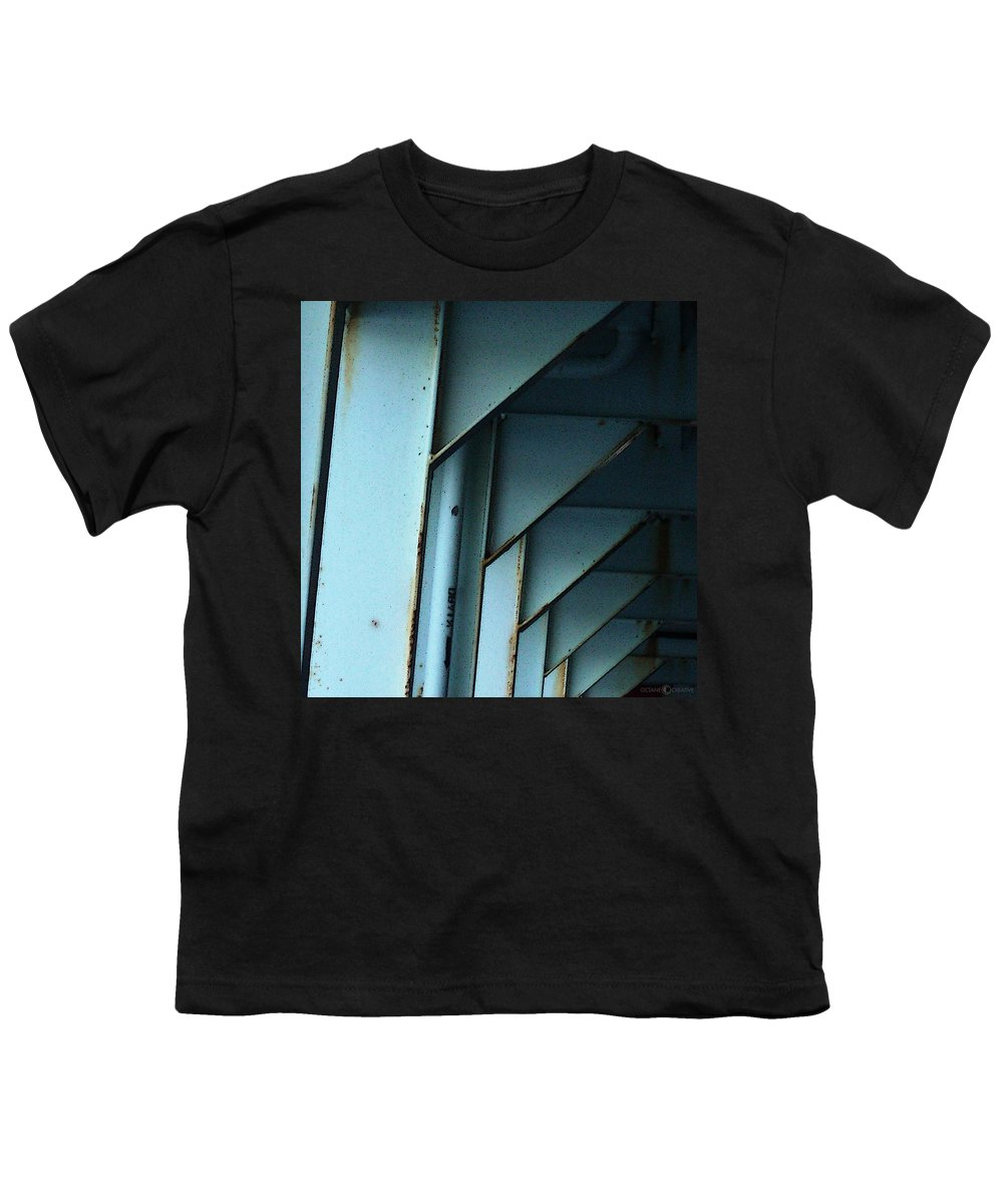 Ferry Youth T-Shirt featuring the photograph Car Ferry by Tim Nyberg