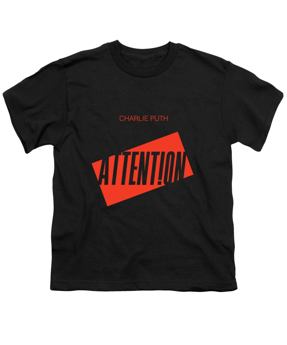 Charlie Puth Attention Youth T-Shirt
