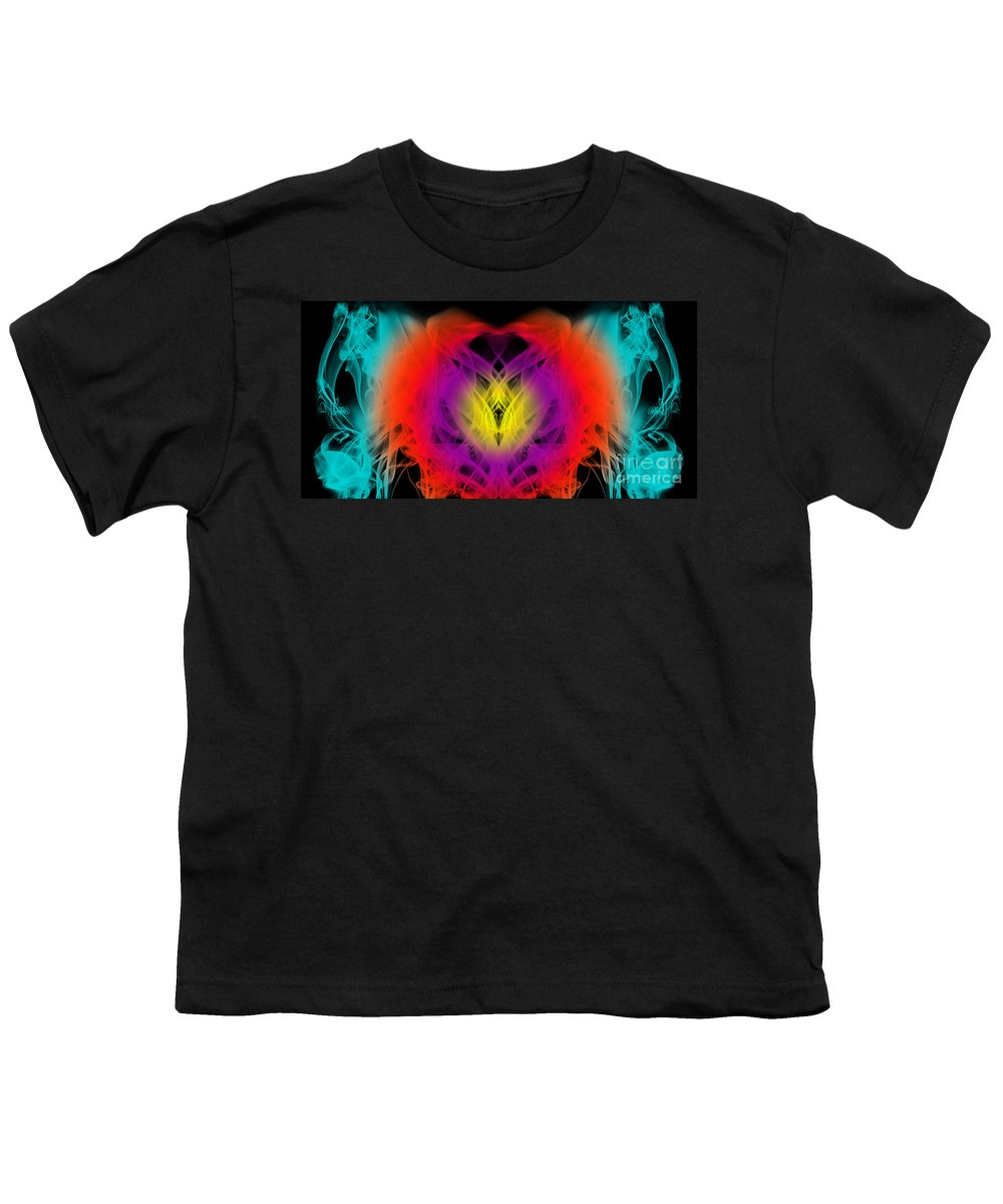 Clay Youth T-Shirt featuring the digital art Chi by Clayton Bruster
