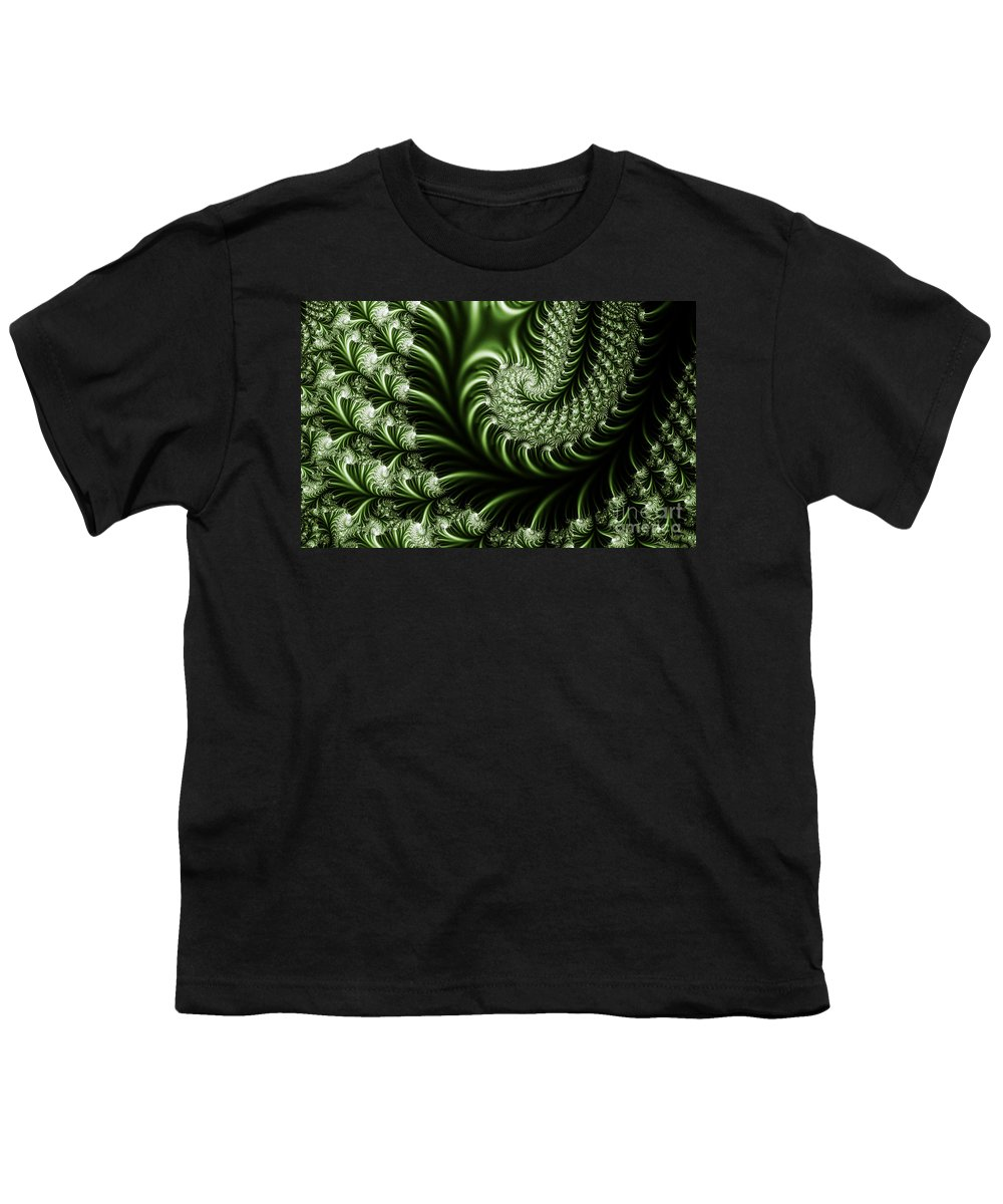Clay Youth T-Shirt featuring the digital art Chlorophyll by Clayton Bruster