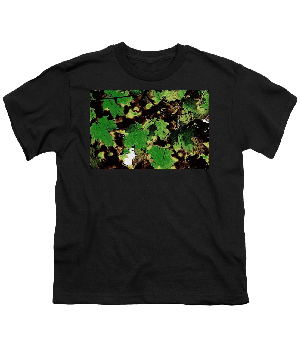 Landscape Youth T-Shirt featuring the photograph Chocolate Pudding by Ed Smith