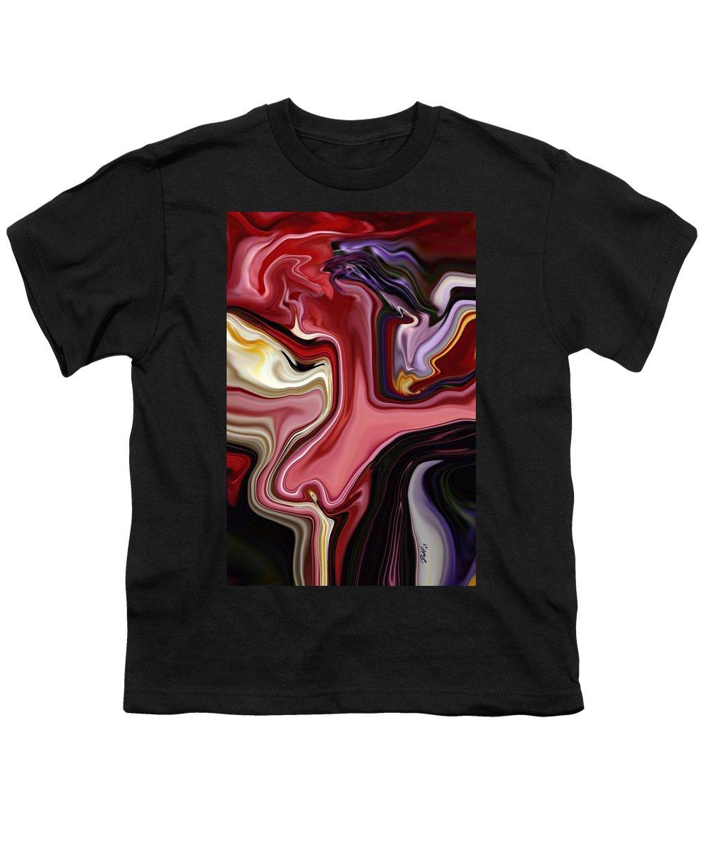 Colour Youth T-Shirt featuring the digital art Colour Hair Day by Rabi Khan