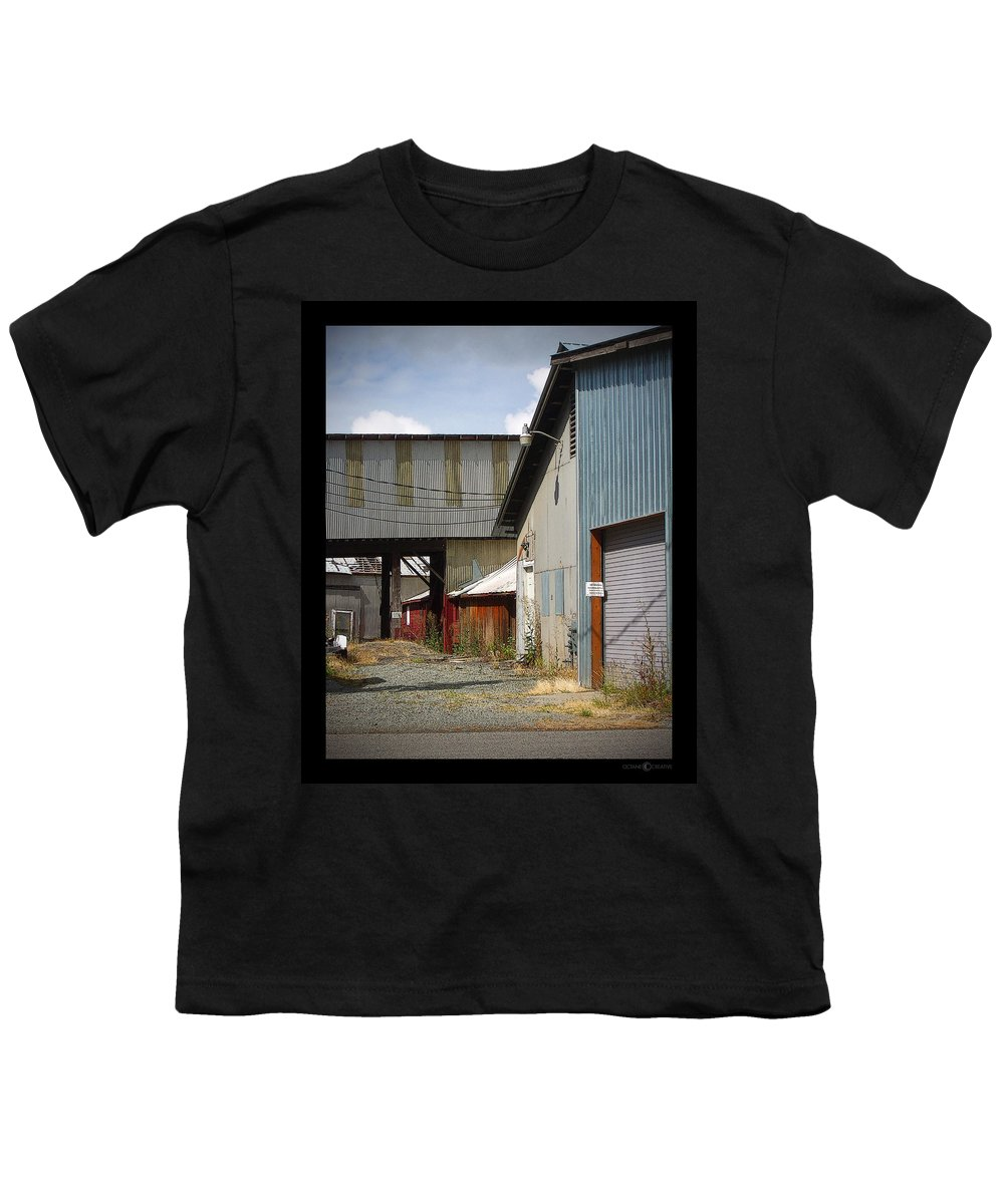 Corrugated Youth T-Shirt featuring the photograph Corrugated by Tim Nyberg