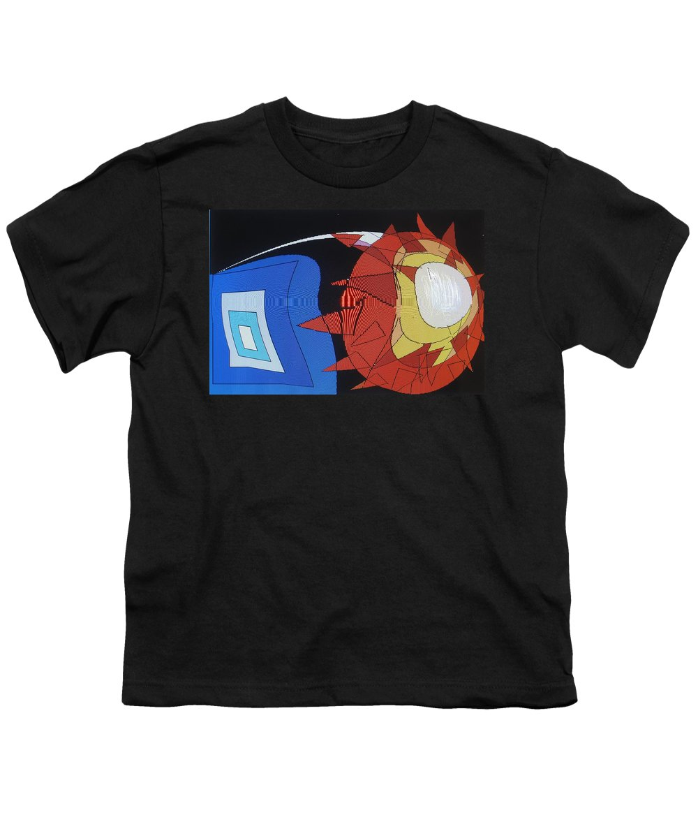 Abstract Youth T-Shirt featuring the digital art Crescendo One by Ian MacDonald