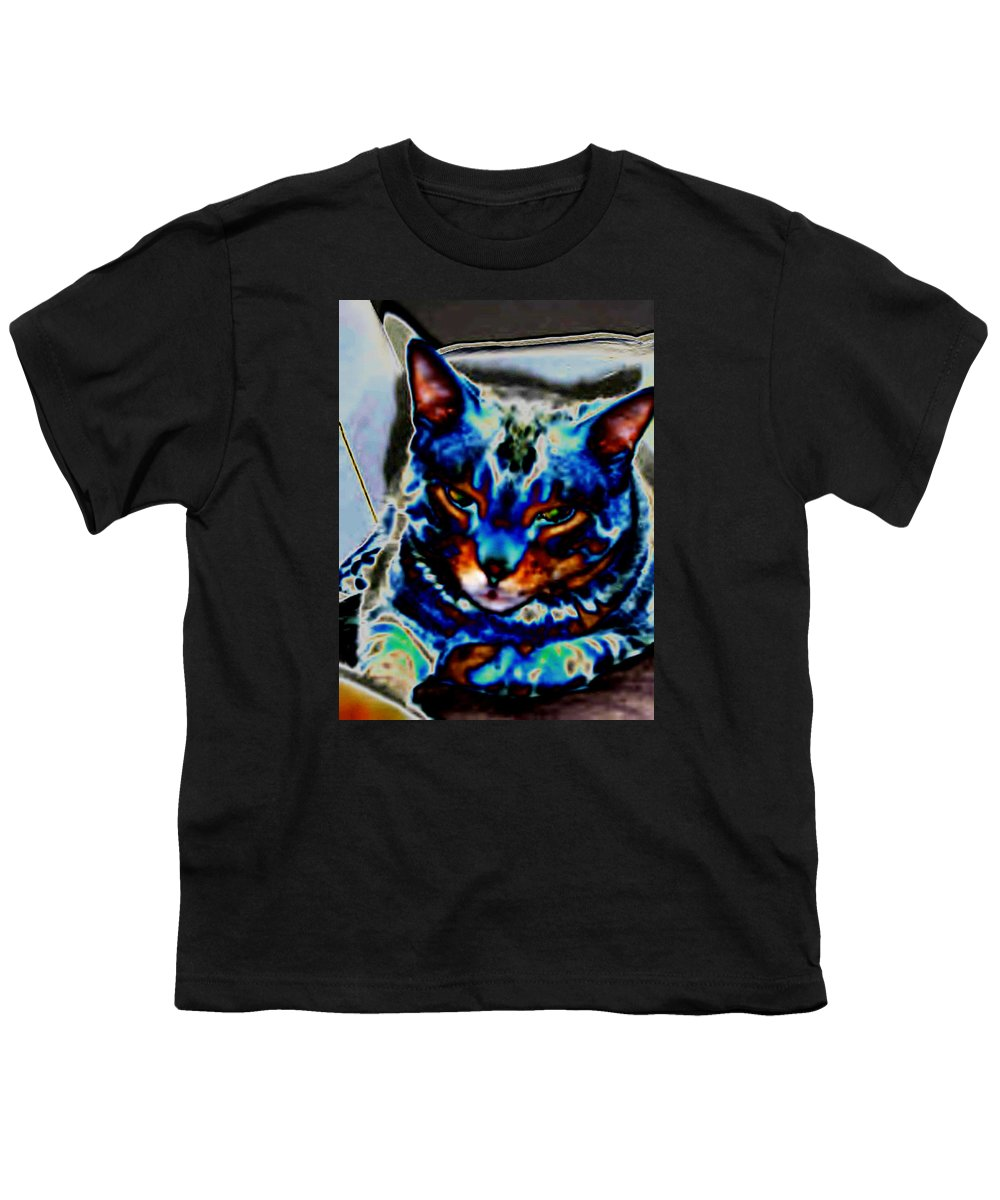 Cat Youth T-Shirt featuring the photograph Day Dreamer by Dawn Johansen