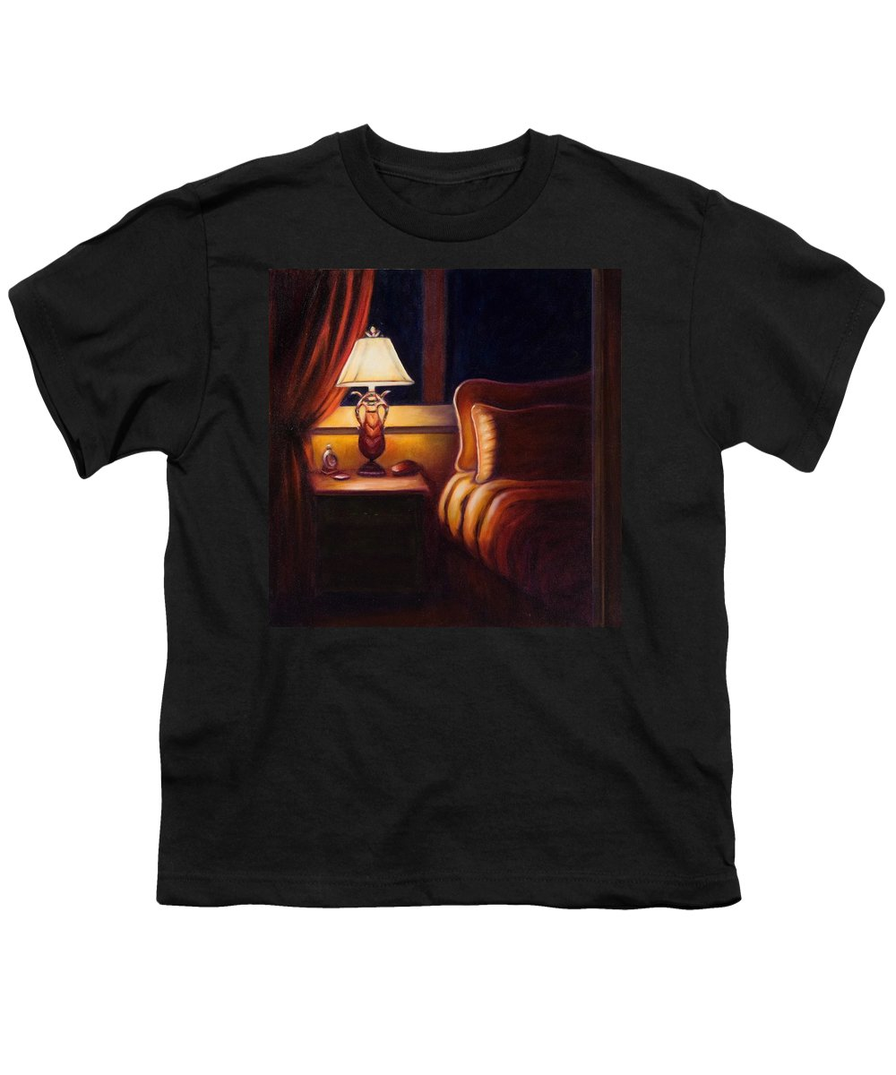 Still Life Youth T-Shirt featuring the painting Days End by Shannon Grissom
