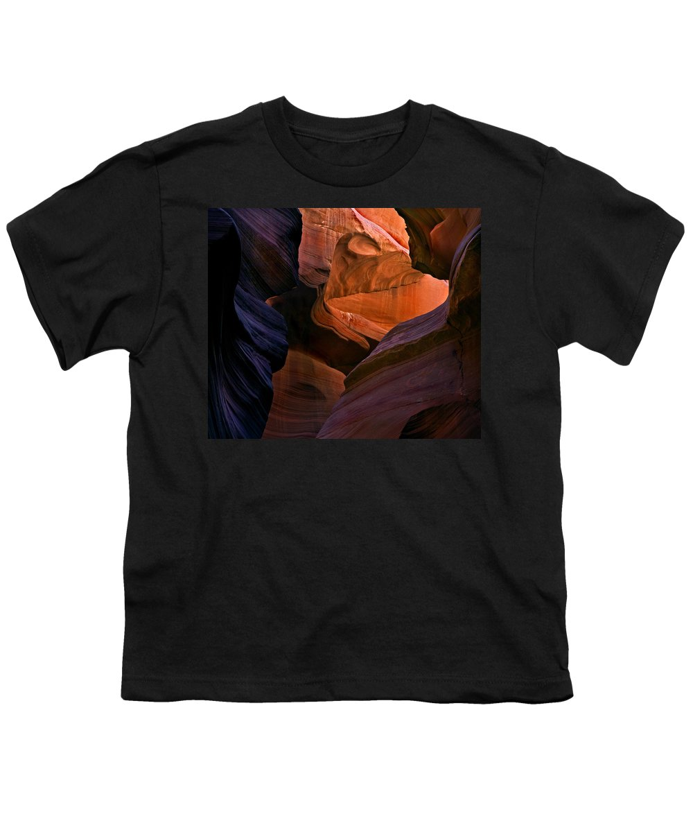 Sandstone Youth T-Shirt featuring the photograph Desert Bridge by Mike Dawson