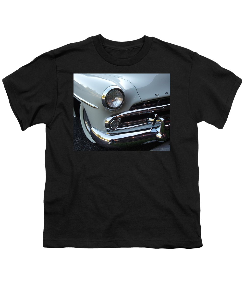 Dodge Youth T-Shirt featuring the photograph Dodge by Tim Nyberg