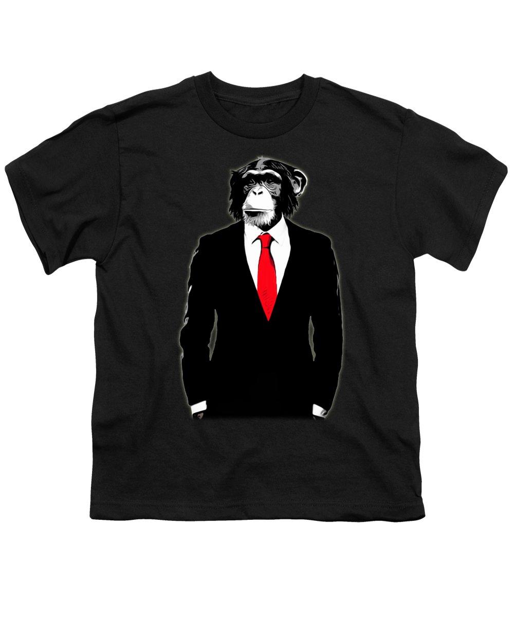 Chimpanzee Youth T-Shirts