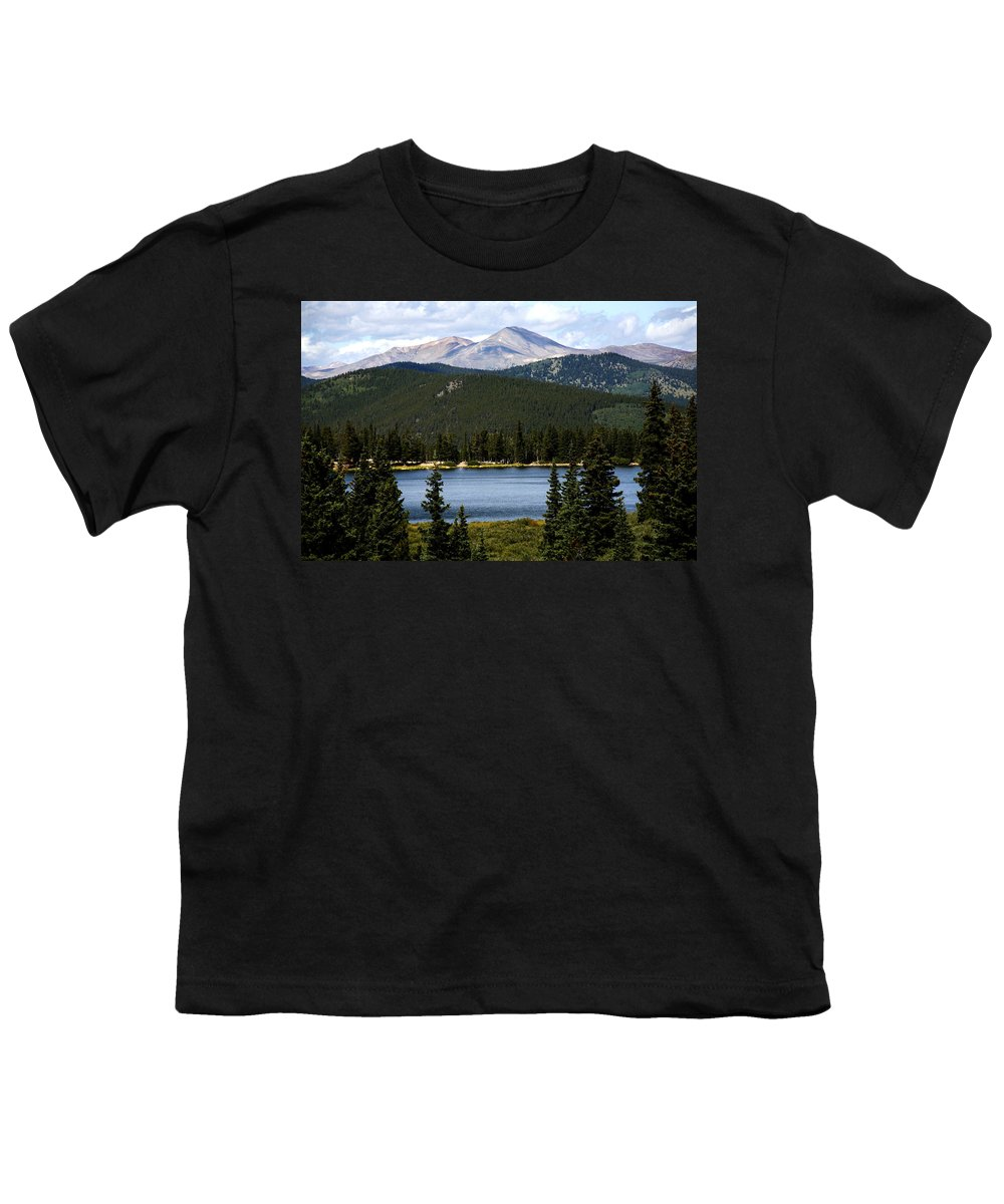 Colorado Youth T-Shirt featuring the photograph Echo Lake Colorado by Marilyn Hunt