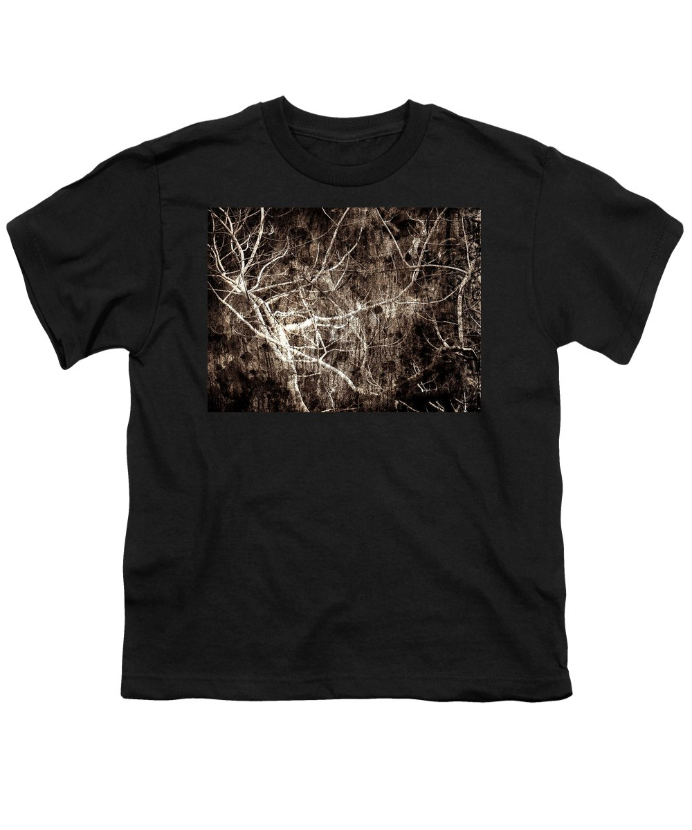 Tree Youth T-Shirt featuring the photograph Endless by Gaby Swanson