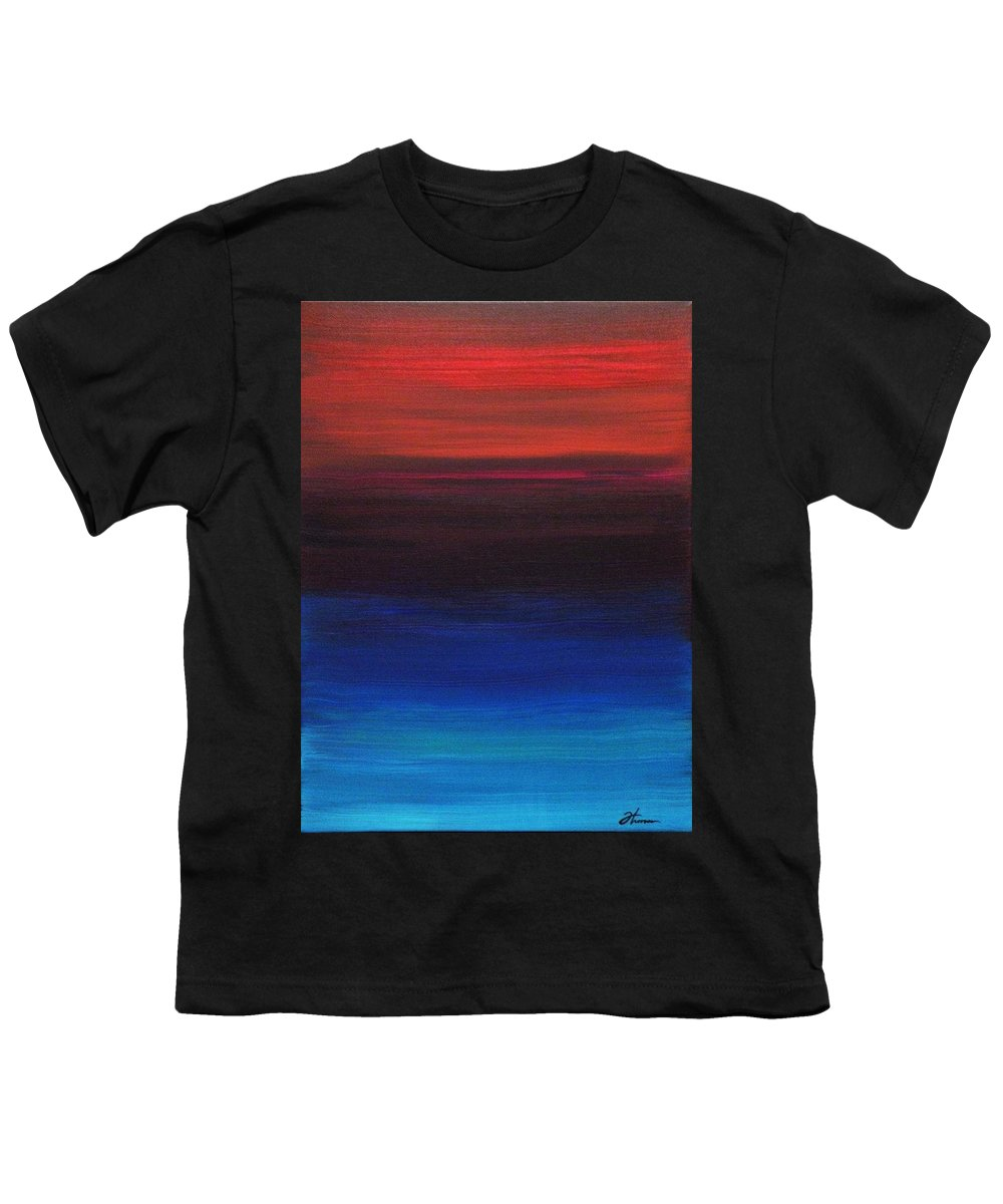 Original Youth T-Shirt featuring the painting Endless by Todd Hoover