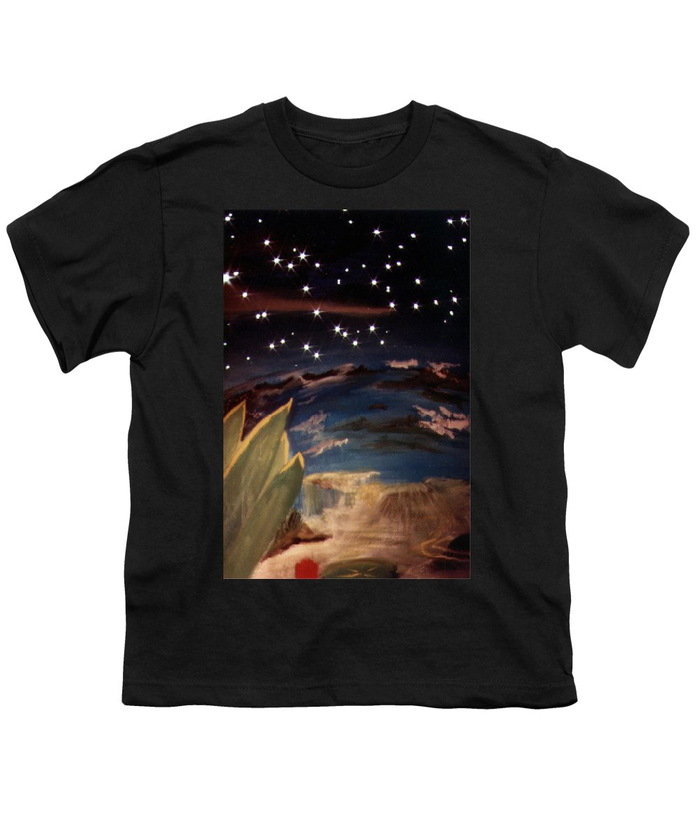 Surreal Youth T-Shirt featuring the painting Enter My Dream by Steve Karol