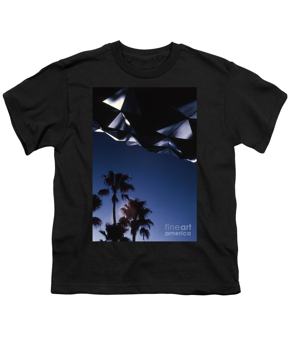 Epcot Youth T-Shirt featuring the photograph Epcot Abstract by Richard Rizzo