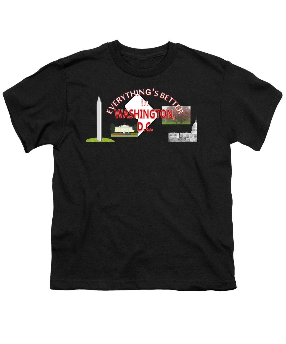 Washington Monument Youth T-Shirts