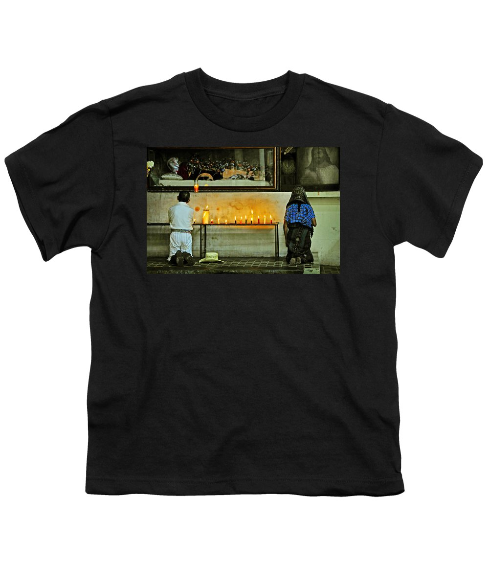 Skip Hunt Youth T-Shirt featuring the photograph Faith by Skip Hunt