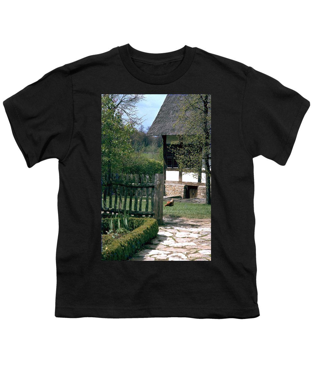 German Youth T-Shirt featuring the photograph Farm by Flavia Westerwelle
