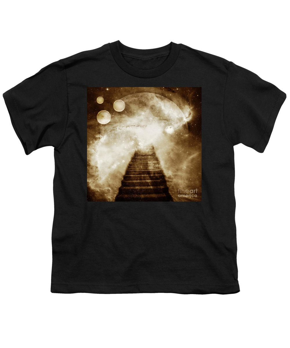Fantasy Youth T-Shirt featuring the photograph Final Destination by Jacky Gerritsen