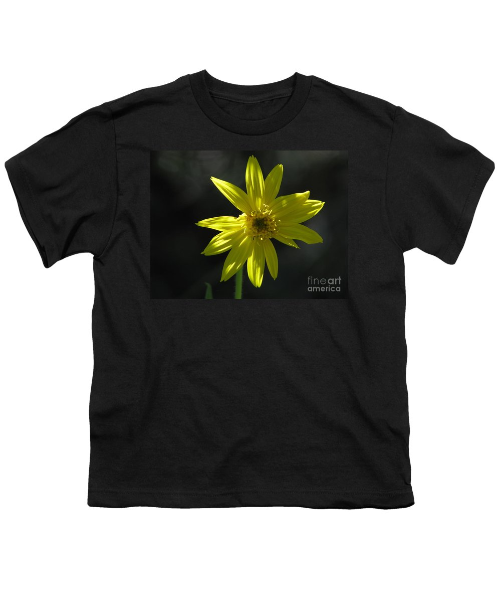 Light Youth T-Shirt featuring the photograph Floral by Amanda Barcon