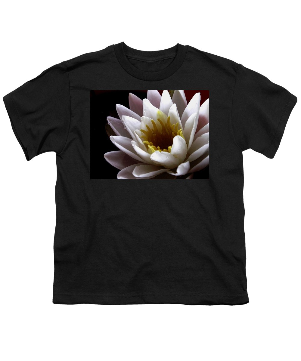 Flowers Youth T-Shirt featuring the photograph Flower Waterlily by Nancy Griswold