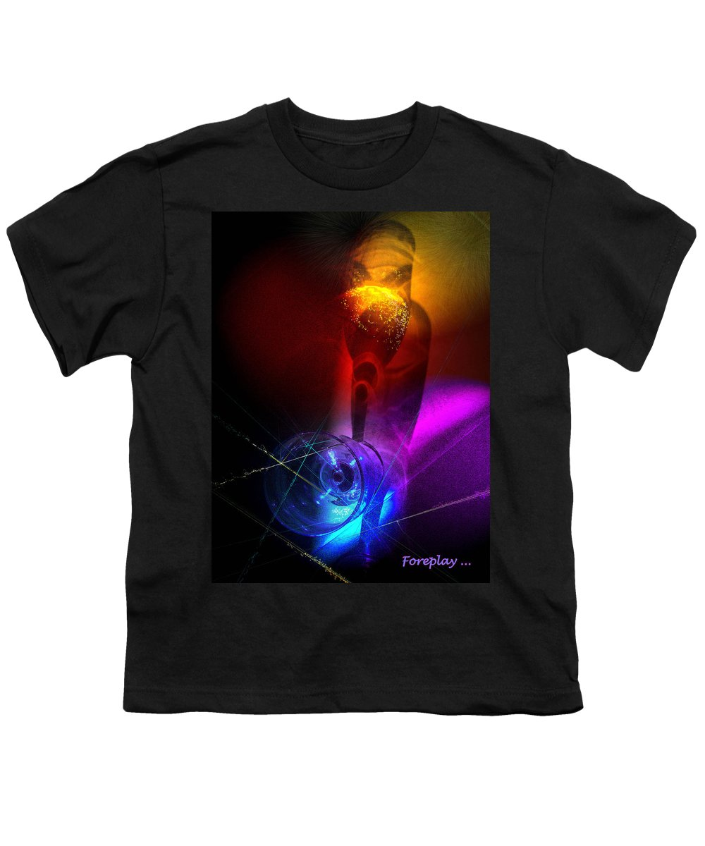 Fantasy Youth T-Shirt featuring the photograph Foreplay by Miki De Goodaboom