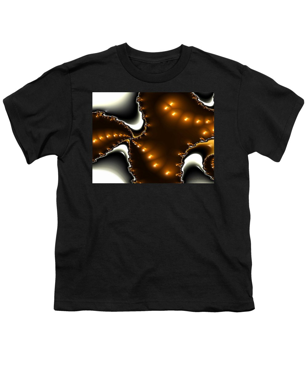 Nest Eggs Fractals Jewels Youth T-Shirt featuring the digital art Fractal 2 by Veronica Jackson