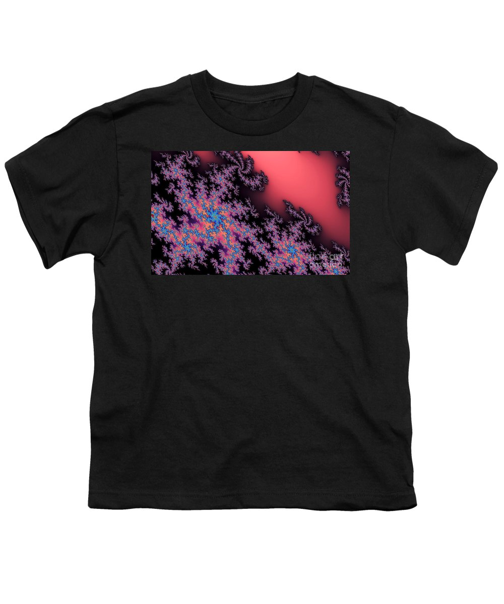 Clay Youth T-Shirt featuring the digital art Galaxies by Clayton Bruster