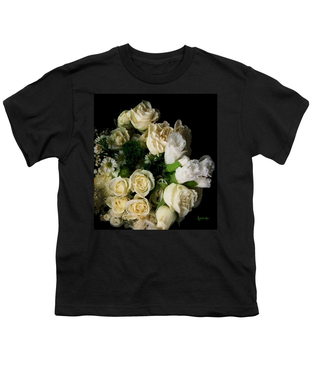 Roses Youth T-Shirt featuring the photograph Glamour by RC DeWinter